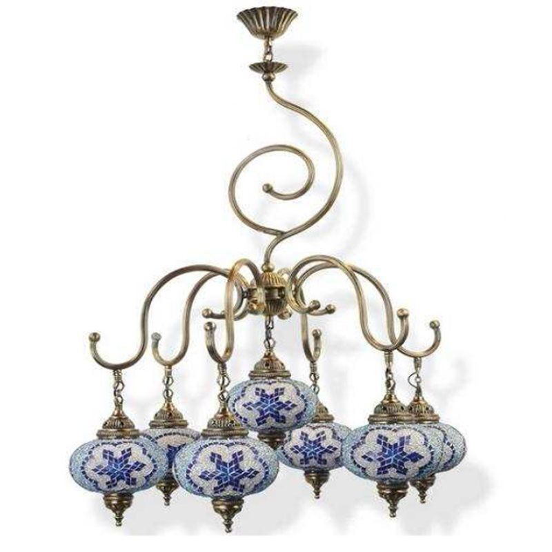 Светильник Exotic Lamp Mosaic Chandelier 03462-32