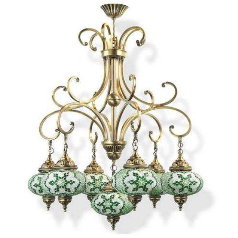 Светильник Exotic Lamp Mosaic Chandelier 03463-32