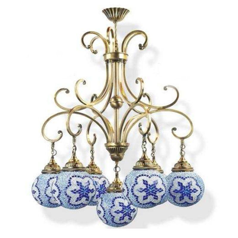 Светильник Exotic Lamp Mosaic Chandelier 03463-34