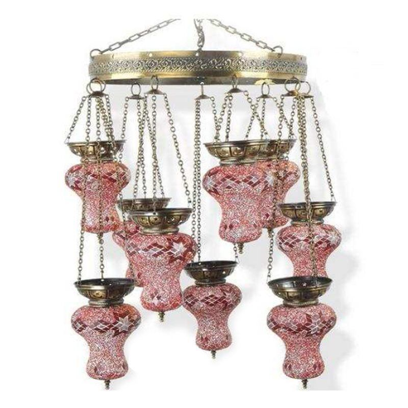 Светильник Exotic Lamp Mosaic Ring Chandelier S 03-05